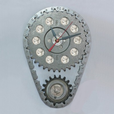 Gambar 4 - Gear & Chain Wall Clock (www.carfurniture.com)